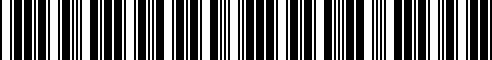Barcode for 84895-85F01
